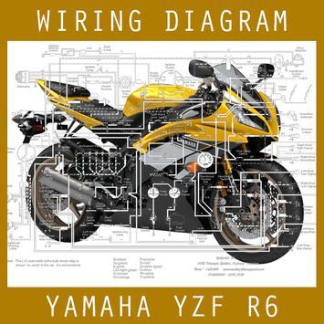 Wiring Diagram Yamaha R6 apk screenshot