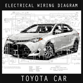 Electrical Wiring Diagram Toyota icon