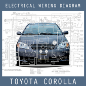 Electrical Wiring Diagram Corolla 2004 icon