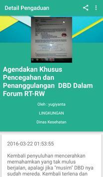 Pengaduan Online Kota Bekasi screenshot 1