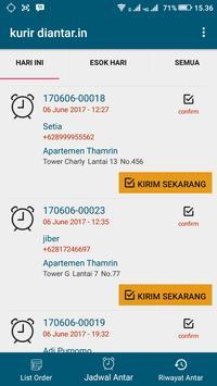 Kurir Door2Door diantarin screenshot 2