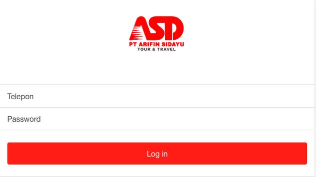 Arifin Sidayu Driver screenshot 1