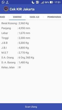 Cek KIR Jakarta apk screenshot