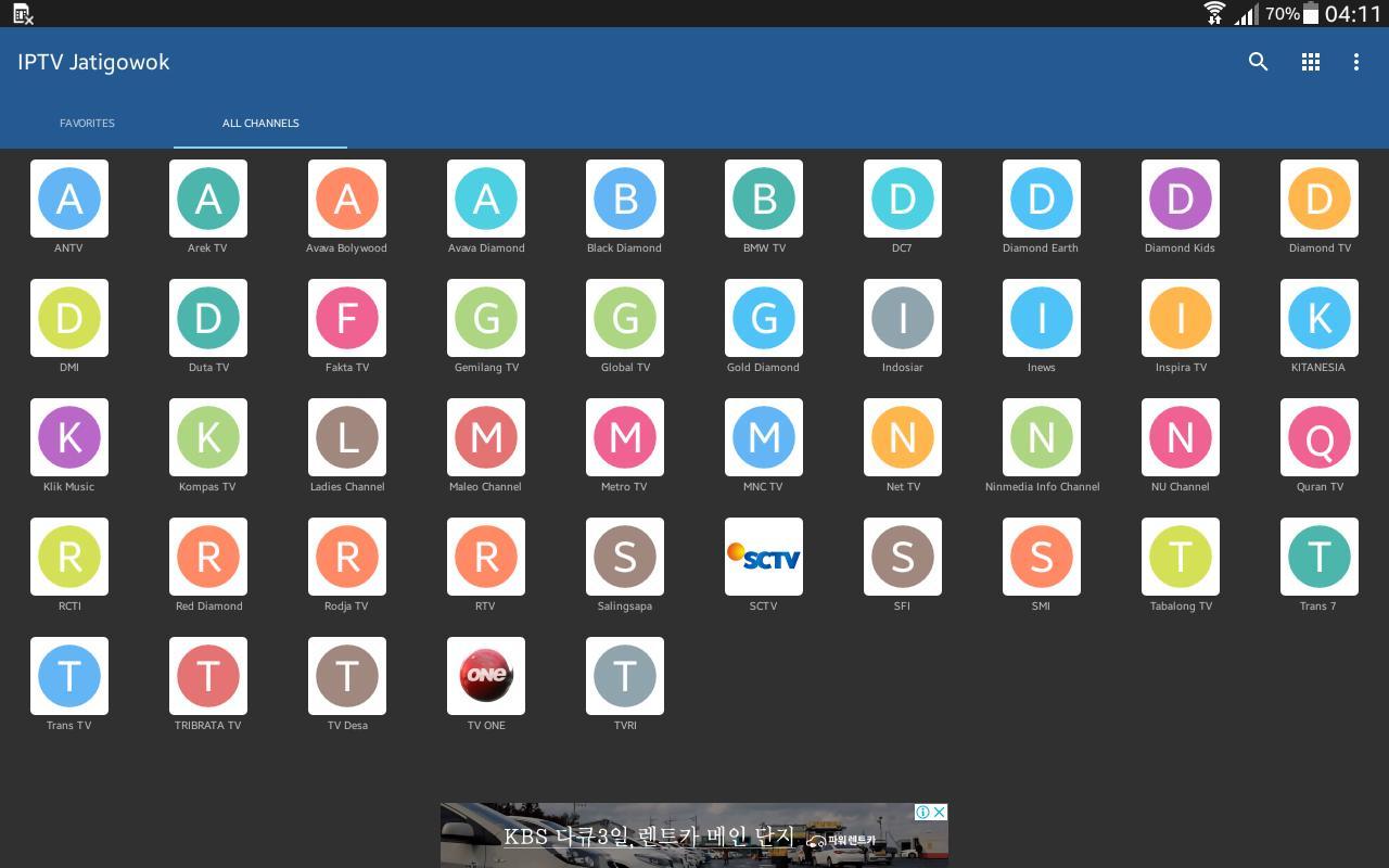 BIG IPTV Jatigowok for Android - APK Download