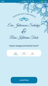 Eric & Rina Wedding poster