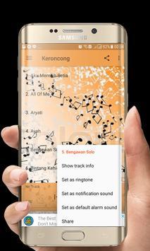 Lagu Keroncong screenshot 5