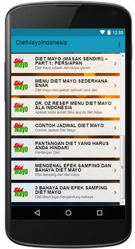 Diet Mayo Indonesia poster