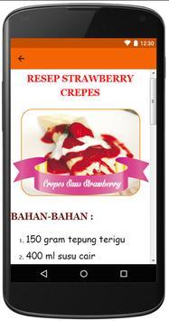 Aneka Resep Crepes apk screenshot