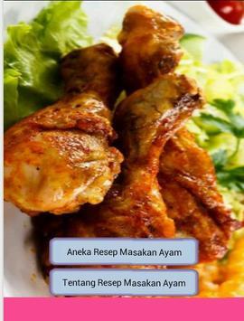 Aneka Resep Masakan Ayam poster