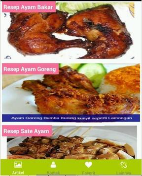 Aneka Resep Masakan Ayam screenshot 1