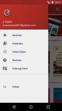 e-Sigilib apk screenshot