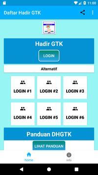 SIM Kehadiran Guru Online DHGTK poster
