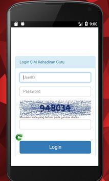 SIM Kehadiran Guru Online DHGTK screenshot 1