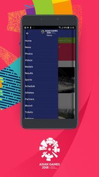 18th Asian Games 2018 Official App screenshot 1