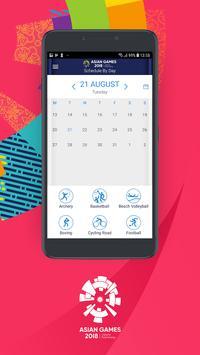 18th Asian Games 2018 Official App screenshot 4
