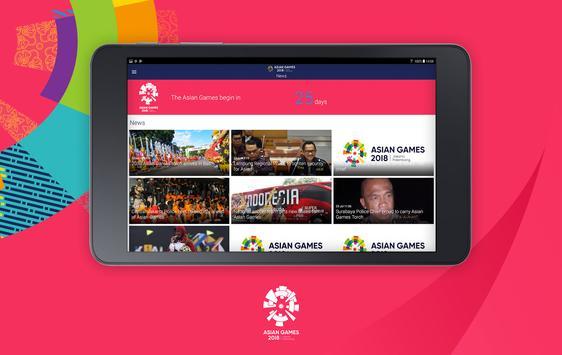 18th Asian Games 2018 Official App screenshot 7