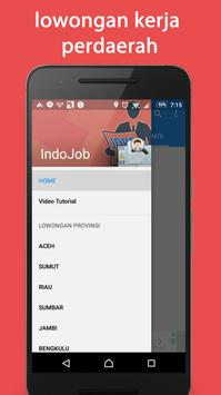 Indojob - lowongan kerja indonesia Update 24 Jam poster