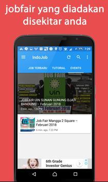 Indojob - lowongan kerja indonesia Update 24 Jam screenshot 2