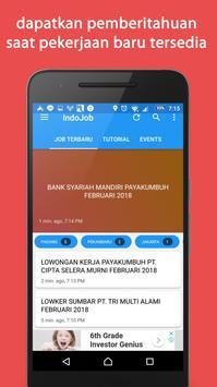 Indojob - lowongan kerja indonesia Update 24 Jam screenshot 3