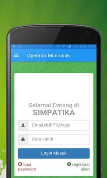 Operator Madrasah screenshot 1