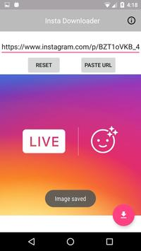 Insta Downloader : Instagram Image Downloader apk screenshot