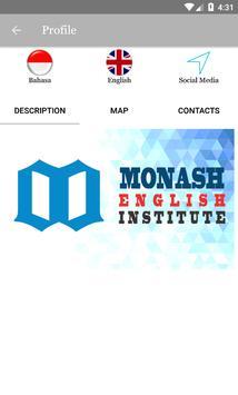 MONASH ENGLISH INSTITUTE screenshot 1