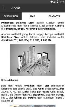 PRIMANUSA STAINLESS STEEL screenshot 1