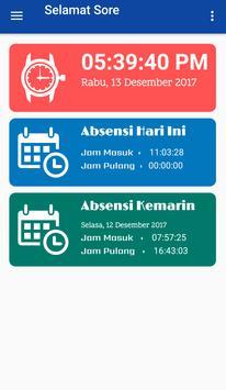 PRESENSI ONLINE LPDB KUMKM apk screenshot