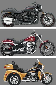 Motor Harley & review poster