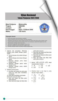 Pembahasan Soal UN Matematika SMA screenshot 1