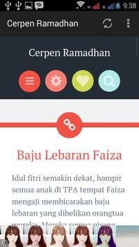 Cerpen Ramadhan apk screenshot