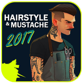Hairstyle and Mustache 2017 icon