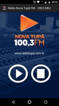 Rádio Nova Tupã FM - 100,3 Mhz poster