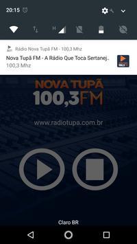 Rádio Nova Tupã FM - 100,3 Mhz screenshot 2