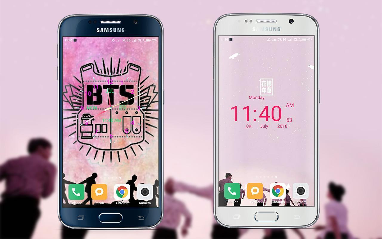 Bts Clock Live Wallpaper For Android Apk Download Aplikasi wallpaper bts yang bisa bergerak