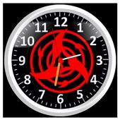 Sharingan Clock Live Wallpaper icon