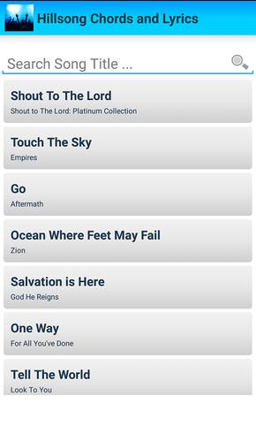 Hillsong Chords and Lyrics APK Download - Free Music & Audio APP for ...