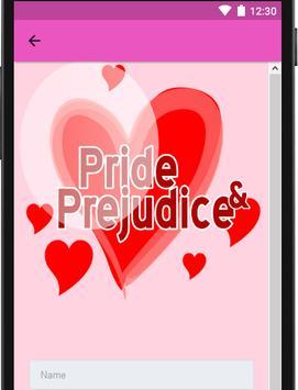 Pride And Prejudice apk screenshot