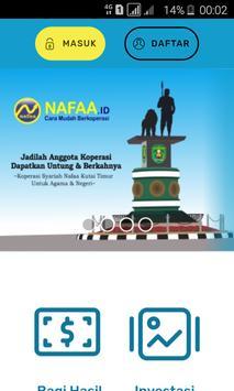 Koperasi Syariah Nafaa - Sangatta Kutim poster