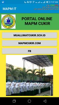 MAPM ONLINE poster