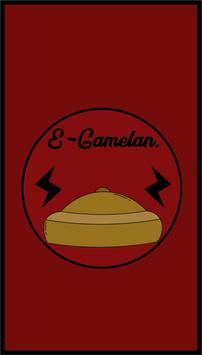 E-Gamelan poster