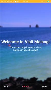 Visit Malang poster