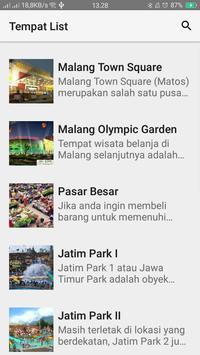 Visit Malang apk screenshot