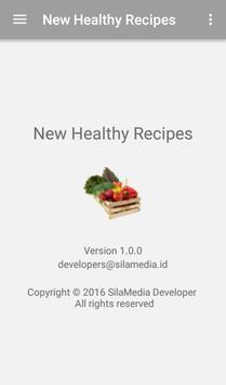 New Healthy Recipes apk screenshot