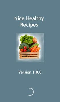 Nice Healthy Recipes poster