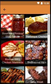 Barbeque Recipe apk screenshot