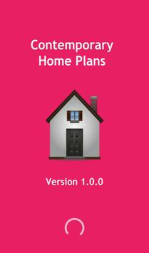 Contemporary home plans poster