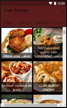 Crab Recipes apk screenshot