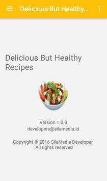 Delicious But Healthy Recipes screenshot 7