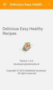 Delicious Easy Healthy Recipes screenshot 7